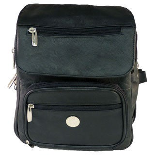 Leather in Chicago Concealment Backpack