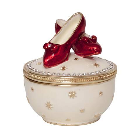 Bejeweled RUBY'S II Musical Red Slipper