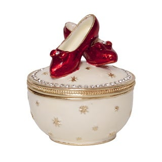 Dorothy's Slippers Trinket Music Box