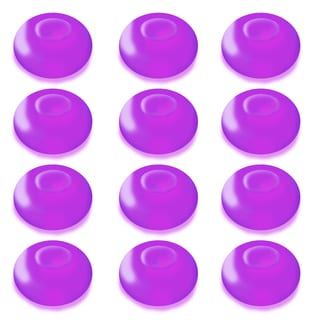 Floating Purple Battery Operated LED Light (Pack of 12)