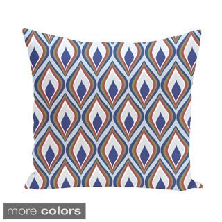 Abstract Diamond Geometric Accent 16-inch Pillow