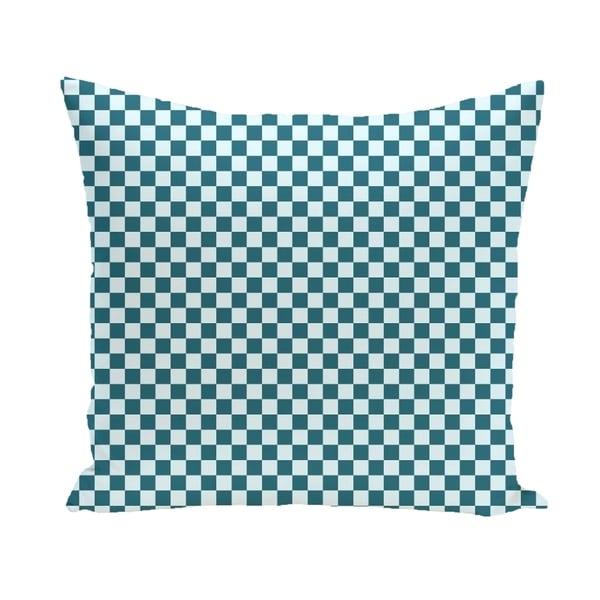 Small Check Geometric 16-inch Decorative Pillow