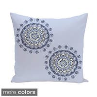Sprial Geometric 16-inch Decorative Pillow