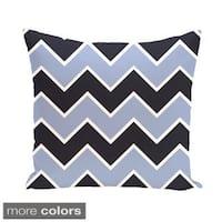 Chevron Geometric 16-inch Decorative Pillow