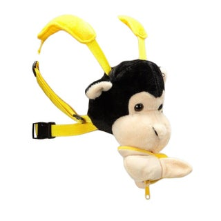 Baby Sherpa Safe2Go Child Safety Harness Backpack Monkey with Banana