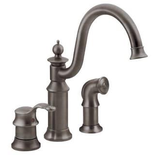 Moen Waterhill S711ORB Oil Rubbed Bronze Kitchen Faucet