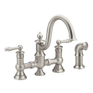 Moen Waterhill Spot Resistant Stainless Steel Kitchen Faucet