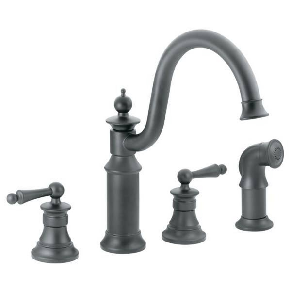 Moen Waterhill S712wr Wrought Iron Kitchen Faucet Free