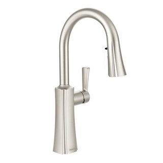 Moen Etch S72608SRS Spot Resist Stainless Steel Kitchen Faucet