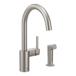 Moen Align 7165SRS Spot Resist Stainless Steel Kitchen Faucet