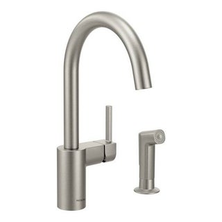 Moen Align 7165SRS Spot Resist Stainless Steel Kitchen Faucet