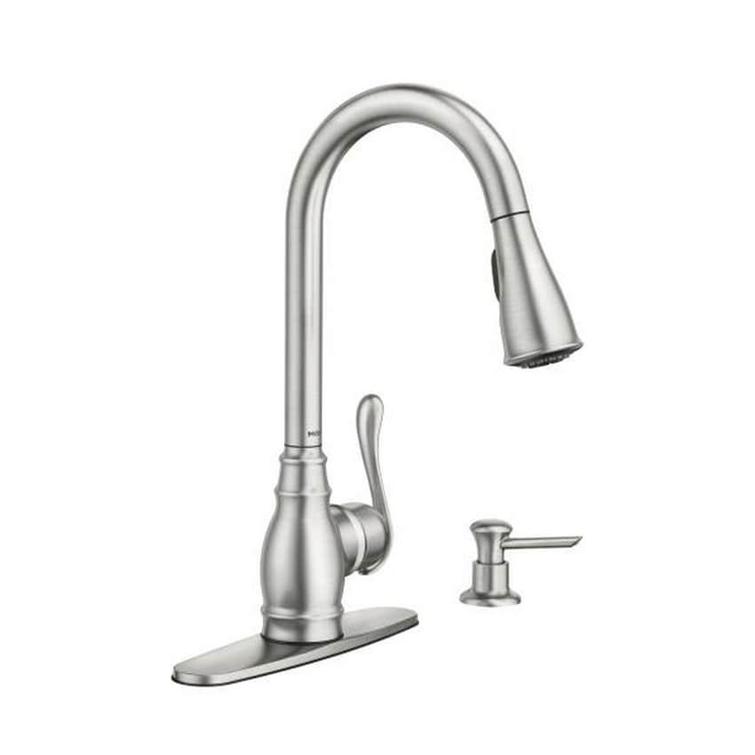 Ordinaire Moen Anabelle CA87003SRS Spot Resist Stainless Steel Kitchen Faucet