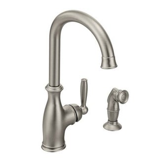 Moen Brantford 7735CSL Classic Stainless Steel Kitchen Faucet