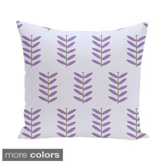 Fern Leaf Design 20-inch Decorative Pillow