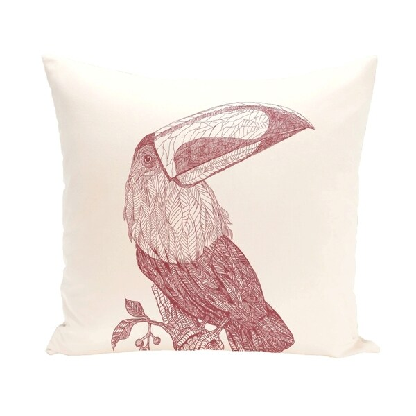 Pelican Design 18-inch Decorative Pillow
