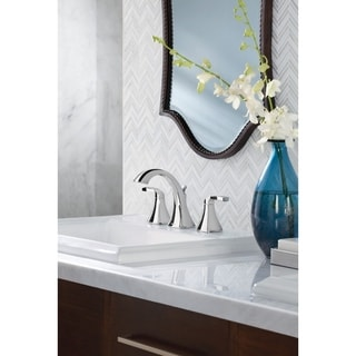Moen Voss Two-Handle Bathroom Faucet, Chrome (T6905)