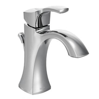 Moen 6400 EVA One-Handle Chrome High Arc Bathroom Faucet - Free ...