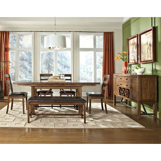 Santa Clara Solid Mango Wood Dinette Table - Brown