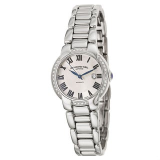 Raymond Weil Women's 'Jasmine' Stainless Steel Swiss Mechanical Automatic Watch