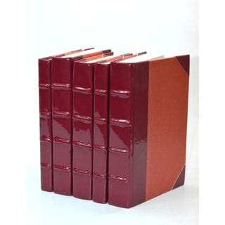 Patent Leather Books - Sangria S/5