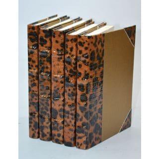Choco Leopard Collection - Copper S/5