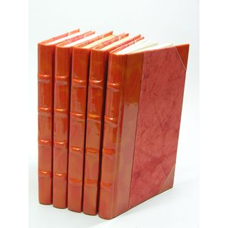 Prismatic Patent Books - Orange/Gold S/5