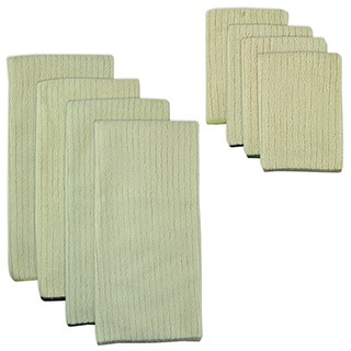 Natural Trim Microfiber Towel and Cloth Set
