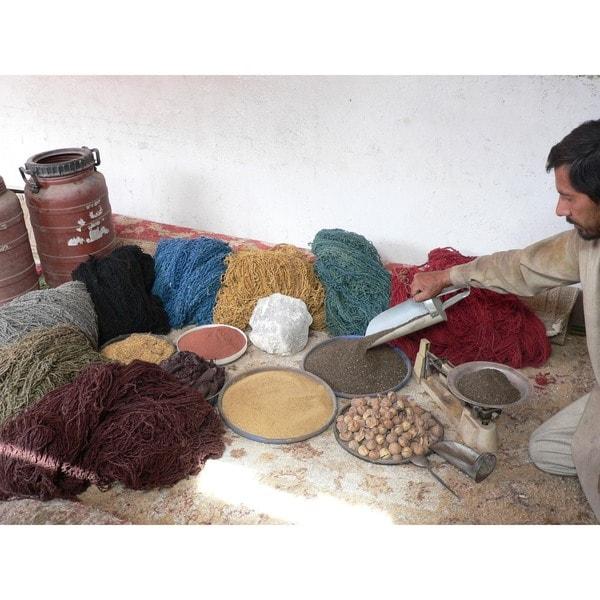 Herat Oriental Afghan Hand-knotted Tribal Balouchi Wool Rug (2'6 x 4'7)