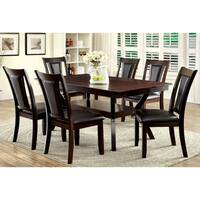 Gracewood Hollow Carbo Dark Cherry 7-piece Dining Set