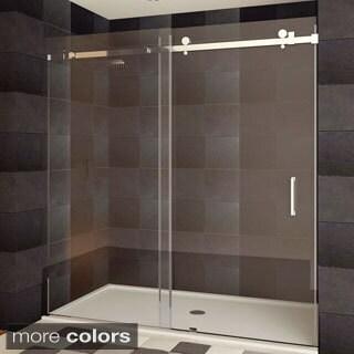 LessCare ULTRA-B Semi-frameless Sliding Shower Doors (2 options available)
