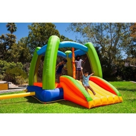 d7353d0d9ff Shop Sportspower My First Jump  n Play Inflatable Bounce House - Free  Shipping Today - Overstock - 9816420