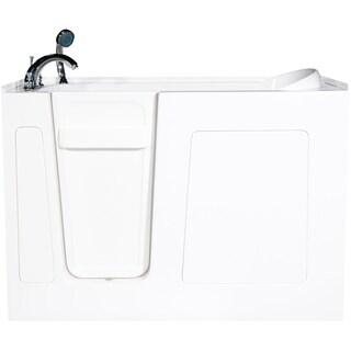 Envy 60-inch White Jetted Walk-in Bath Tub
