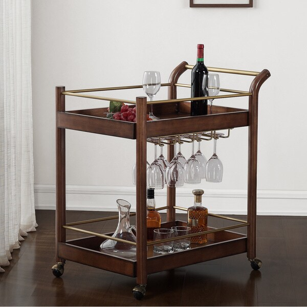 I Love Living Wood Bar Cart Free Shipping Today 16981752