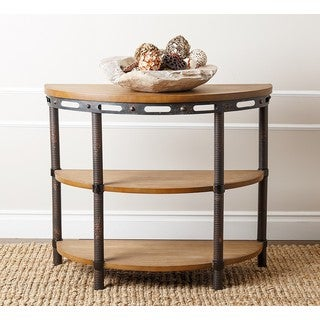 Abbyson 'Northwood' Industrial Console Table