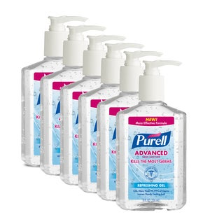 Purell Original 8-ounce Hand Sanitizer (Pack of 6)