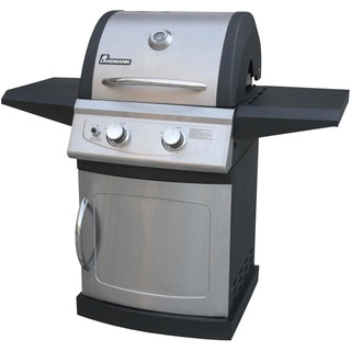 Falcon Series 2 Burner Gas Grill Black/SS