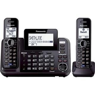 Panasonic Link2Cell KX-TG9542B DECT 6.0 1.90 GHz Cordless Phone - Bla
