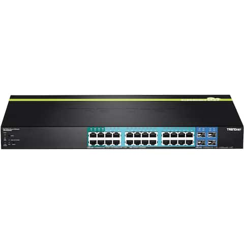 TRENDnet 28-Port Gigabit Web Smart PoE+ Switch