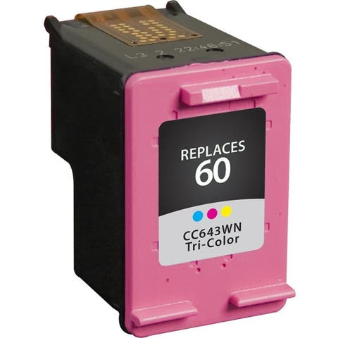V7 Remanufactured Tri-Color Ink Cartridge for HP CC643WN (HP 60) - 165 page yield