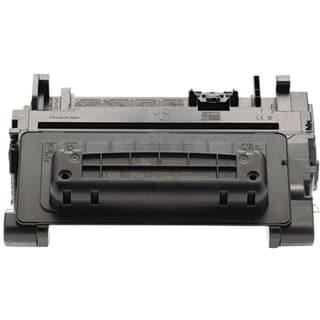 eReplacements Compatible Black Toner for HP CE390A