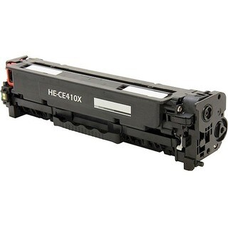 eReplacements Compatible High Yield Black Toner for HP CE410X, 305X