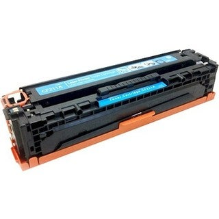 eReplacements Compatible Cyan Toner for HP CF211A, 131A