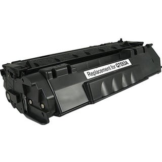 eReplacements Compatible Black Toner for HP Q7553A