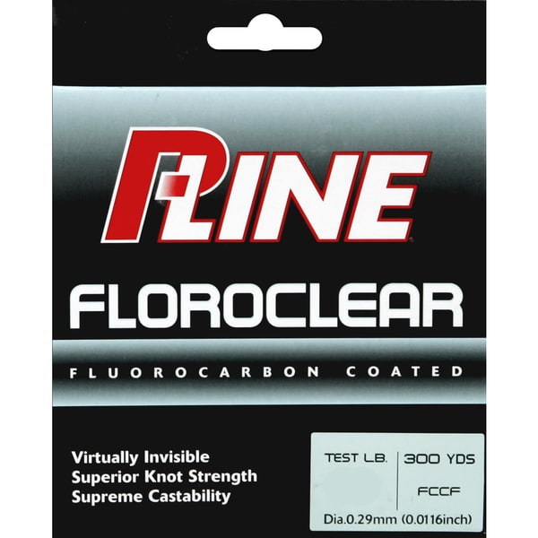 P-Line Floroclear 300-yard Clear Fishing Line