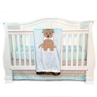 One Grace Place Puppy Pal Infant 3-piece Crib Bedding Set|https://ak1.ostkcdn.com/images/products/9817365/P16982735.jpg?impolicy=medium