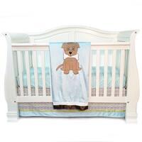 One Grace Place Puppy Pal Infant 3-piece Crib Bedding Set