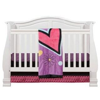 One Grace Place Sassy Shaylee Infant 3-piece Crib Bedding Set