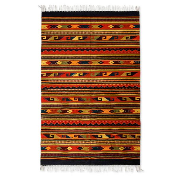 Handcrafted Traditional Zapotec Color Celebration Wool