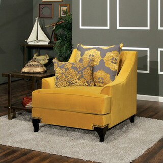 Furniture of America Visconti Premium Fabric Chair