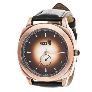 Van Sicklen Men's Copper Steel VAN526CO-BR Brown Leather Watch